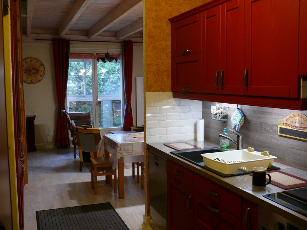 Duplex 60 m² Super Besse - Photo de la cuisine.